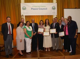 Ambassador for Peace Award Recipients