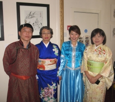Mongolian and Japanese Traditional Dress